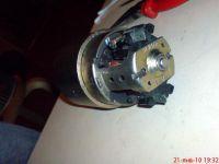 Крепеж ротора мотора